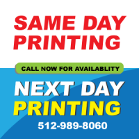 same day business card printing